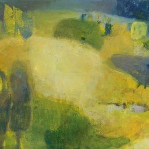1. Hill House. 41x32. Oil on canvas. 2020